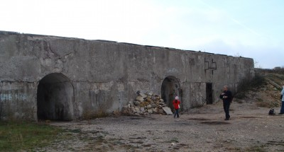Батареи Дополнительного Приморского фронта Севастопольской крепости